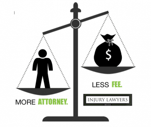 More Attorney. Less Fee.
