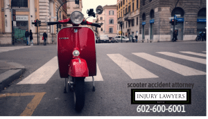 scooter accident attorney in Mesa