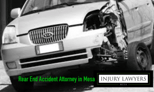 rear end accident attorney in Mesa, 25% fees, Arizona Injury Lawyers