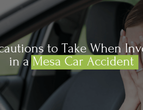 5 Precautions to Take When Involved in a Mesa Car Accident