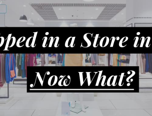 I Slipped in a Store in Mesa: Now What?