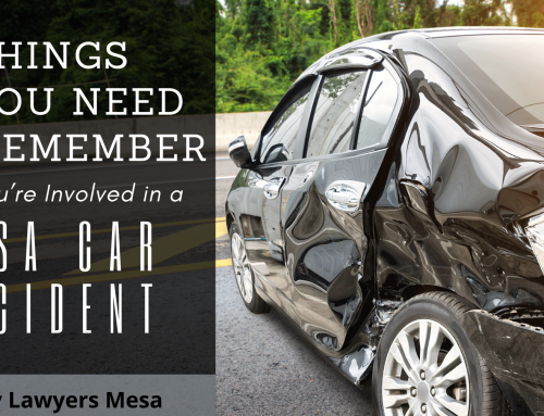8 Things You Need to Remember after You're Involved in a Mesa Car Accident