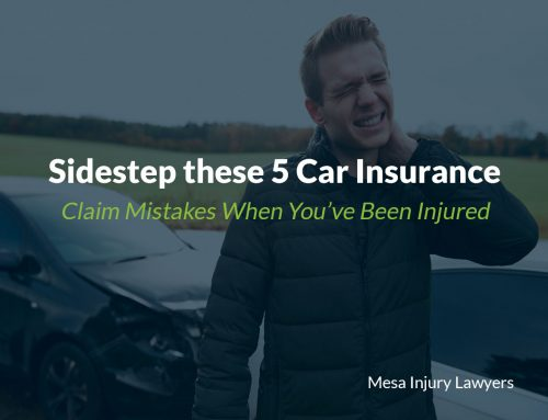 Sidestep these 5 Car Insurance Claim Mistakes When You've Been Injured