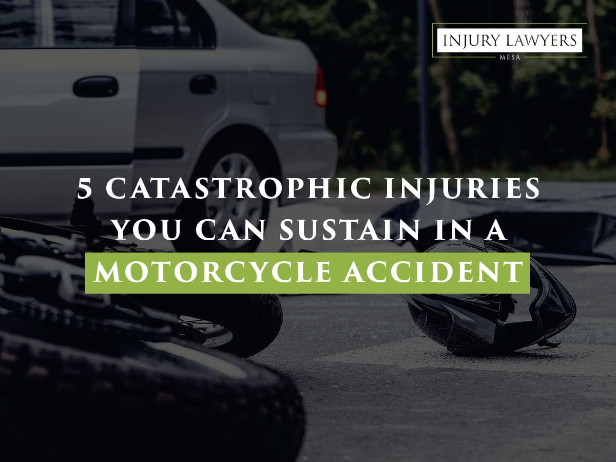 5 Catastrophic Injuries You Can Sustain in a Motorcycle Accident