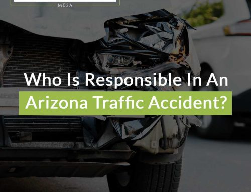 Who Is Responsible In An Arizona Traffic Accident?