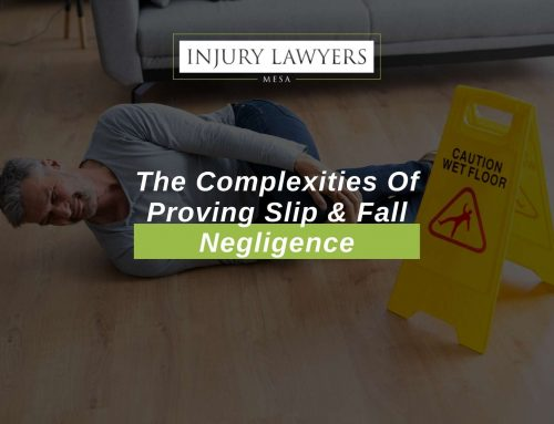 The Complexities Of Proving Slip & Fall Negligence